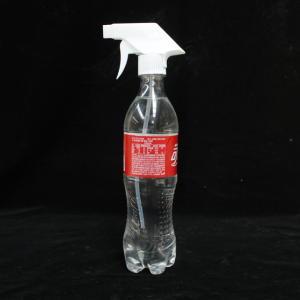 sprayer with coca cola bottle